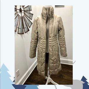 Womens St John's Bay long heavy Puffer Coat, Large